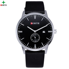 2016 Men Watch Top Brand Luxury Leather Quartz Watches Men Ultra-thin alone Second Dial Waterproof Reloj Hombre Men Simple Watch