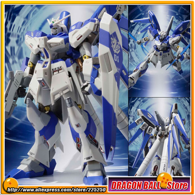 Japan Anime Gundam Char's Counterattack Original Bandai Tamashii Nations Metal Robot Spirits Action Figure - Hi-V/Nu Gundam original bandai tamashii nations robot spirits exclusive action figure rick dom char s custom model ver a n i m e gundam