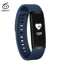 DRRBYY Bluetooth Smart Watch C7 Heart Rate Monitor Pedometer Activity Tracker Fitness Bracelet Smart Wristband for IOS & Android
