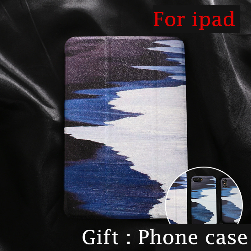 Personal Magnet PU Leather Case Flip Cover For iPad Pro 9.7 10.5 Air Air2 Mini 1 2 3 4 Tablet Case For New ipad 9.7 2017 A1822 mimiatrend tige for apple ipad air 1 2 air2 flip pu leather case smart cover for new ipad 9 7 2017 tablet case for ipad pro 9 7