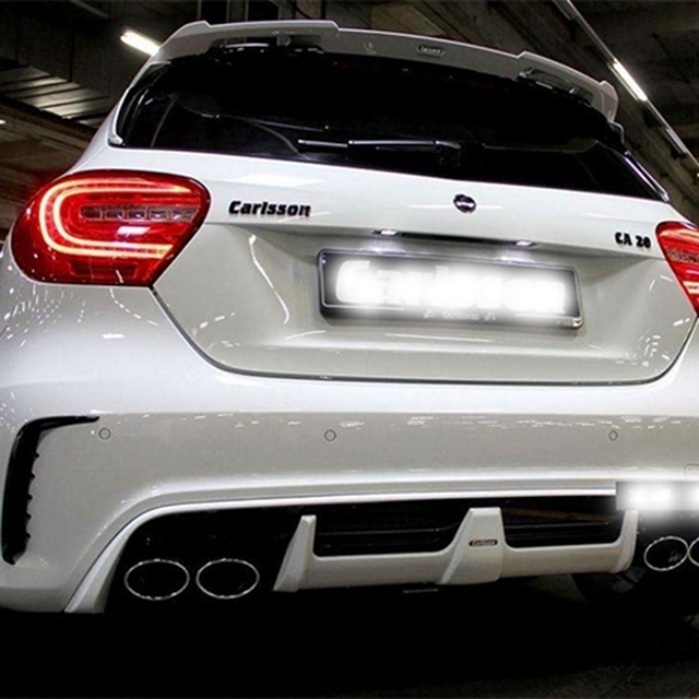 For Mercedes Benz Glc Class Coupe Glc300 Glc250 Spoiler: GLC Class X253 Car Styling Carbon Fiber Racing Rear