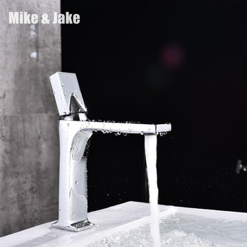 single handle basin mixer chrome brass crane washbasin faucet bathroom faucet double handle tap hot and cold mixer MJ01074