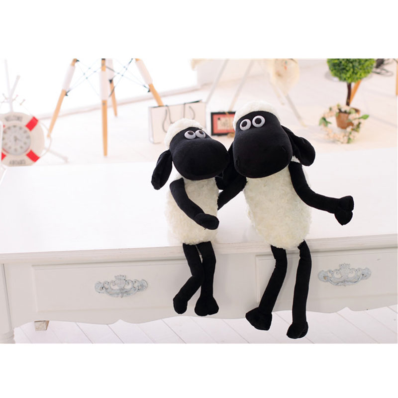 1pc plush doll Sean/ 23cm Doll Sheep Animal Plush And Stuffed Toys Children's Toy lovely sheep
