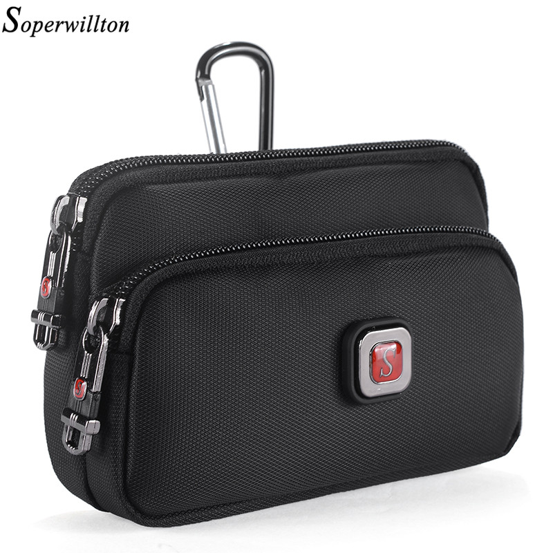 Soperwillton Taille Packs Hommes Femmes Fanny Pack Dropshipping Mobile  Téléphone Sac Taille Sac Wateproof 1680D Oxford 2de345f5a97