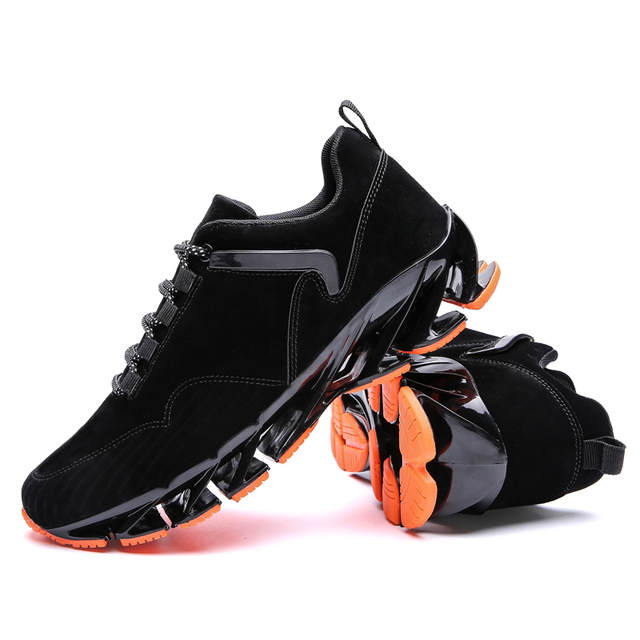 US $35.07 31% OFF|Nowe super fajne oddychające buty do biegania męskie trampki bounce slingshot terenowe buty sportowe na lato szkolenie zawodowe buty