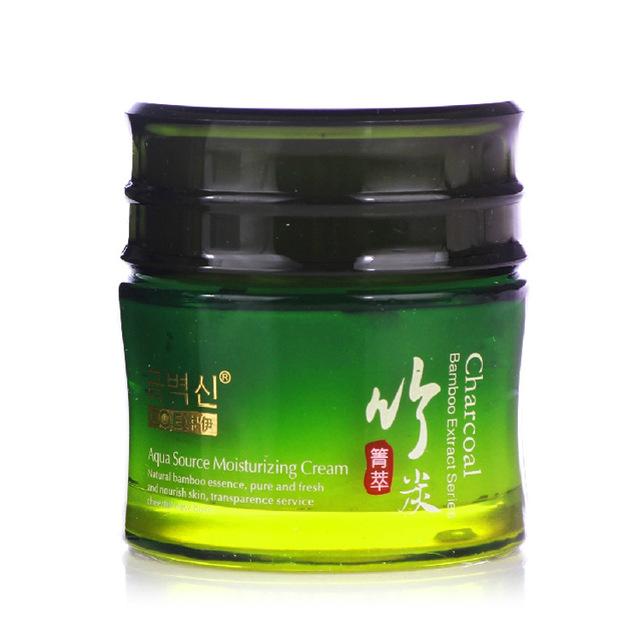 Extracto de bambú einite agua crema hidratante 50g