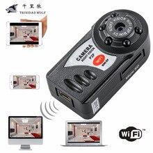 Тринидад волк мини Q7 Камера 720 P Wi-Fi DV DVR Беспроводной IP Cam новые видеокамеры Регистраторы инфракрасный Ночное видение Малый Камера