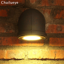 LOFT American Creative Personalized Water Pipe Wall Lamp Retro Restaurant Aisle Balcony Cafe Porch Industrial Indoor Outdoor loft retro creative hallway stairs aisle lighting european industrial bar restaurant water pipe single head wall lamp