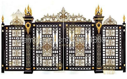 Merveilleux Garden Door,security Swing Door,gate Door,villa Gate,patio6 In Doors From  Home Improvement On Aliexpress.com | Alibaba Group