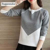 DRL зима свитер для женщин Мода 2019 г. свободные Джемперы корейские пуловеры вязание пуловеры для толстый Рождественский свитер