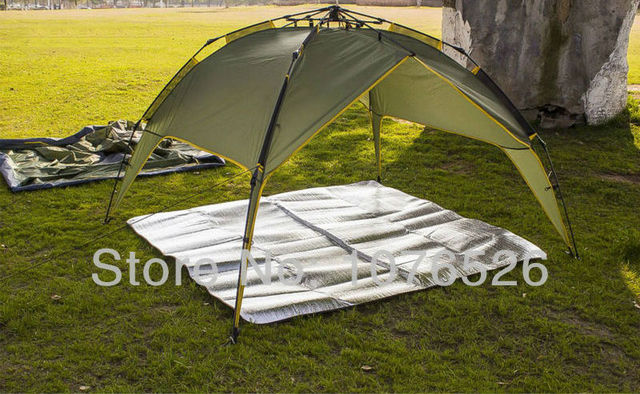2016 New Outdoor pads Aluminum Foil mats Double Side C&ing D&proof 2-3 Person Use : tent aluminum foil - memphite.com