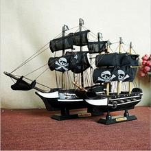 Wooden pirate ship model office decorated with smooth sail wood craft size la salamandre 1752 model ship wood