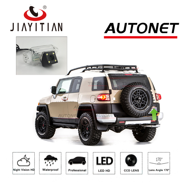 Jiayitian Car Camera For Toyota Fj Cruiser Gsj15w 2006 2017 Suv Lhd Rhd Ccd
