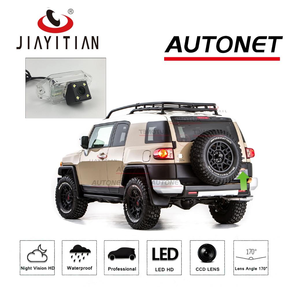 JIAYITIAN Car Camera For Toyota FJ Cruiser GSJ15W 2006~2019 SUV LHD/RHD CCD Backup Camera License Plate Camera Rear View Camera