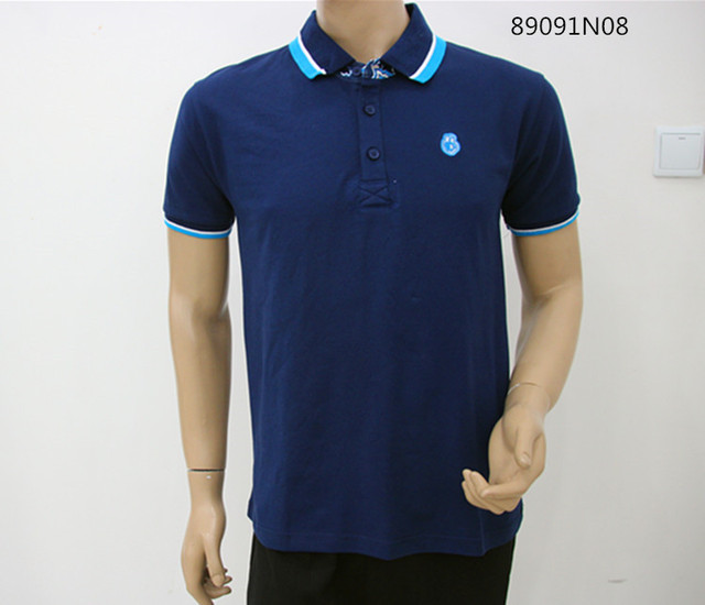 2016 New Men Shirt Polo Cotton Brand Bosco Men Polo Shirt Casual  Short-sleeve Shirts Russia Plus Size Blue Big Promotion