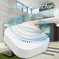 Детектор дыма 433 МГц  беспроводная противопожарная сигнализация  домашняя система охранной сигнализации  работает с 433 92 РЧ-мостом