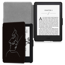 Aroita All-new Fashion Painted Case for Kindle 8(8th Gen,2016 release) E-book with Auto Wake/Sleep and Anti-fall Shell Cover case for amazon kindle 8 th gen 2016 model 6 tablet case e book smart cover for kindle 558 with auto wake up sleep