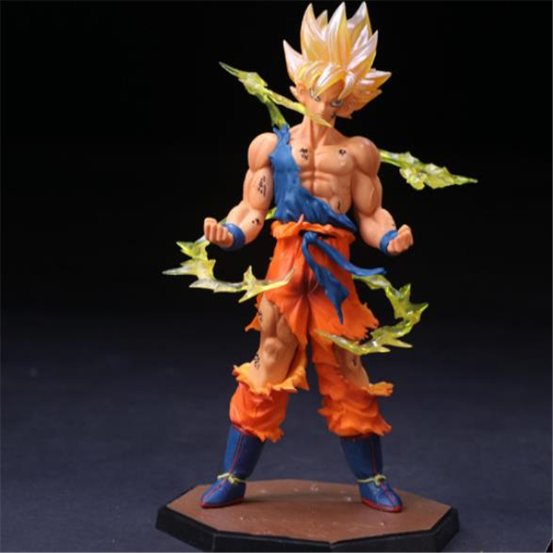 Dragon Ball Z Super Saiyan Goku Son Gokou KameHameHa Trunks vegeta buu Gotenks Action Figures Model Toy Gift toys action figure