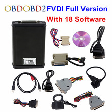 FVDI Full Version (Including 18 Software) FVDI ABRITES Commander FVDI Diagnostic Scanner Unlock Version For Odometer IMMO ECU