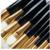Aochern 2017 Pincéis de Maquiagem Profissional Set 12 pcs Pincéis de Maquiagem Contorno Fundação Eyeshadow Blending Pencil Cosméticos Ouro