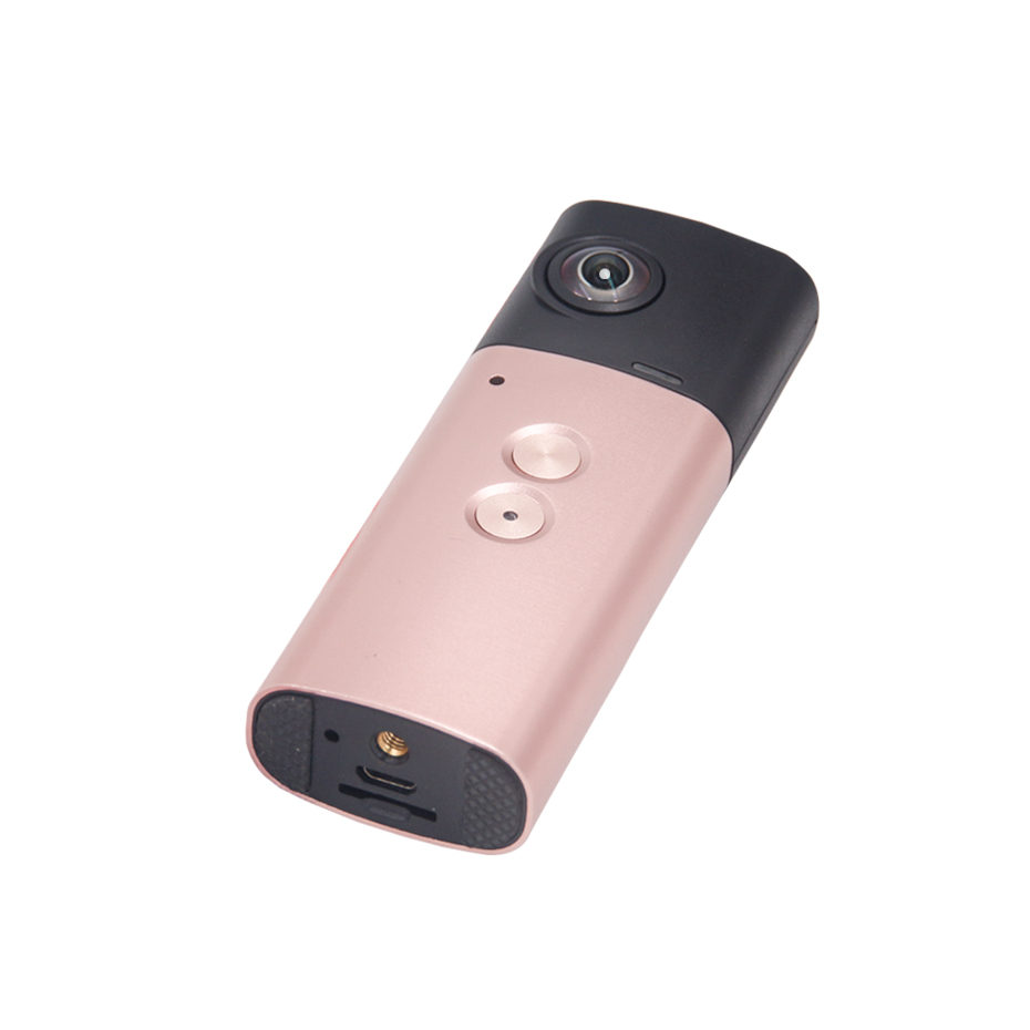 360 Panoramic Handheld Camera WiFi Action Sports Cam 1920*960 Full HD VR Video Camera Fish Eyes Lens for Smartphone