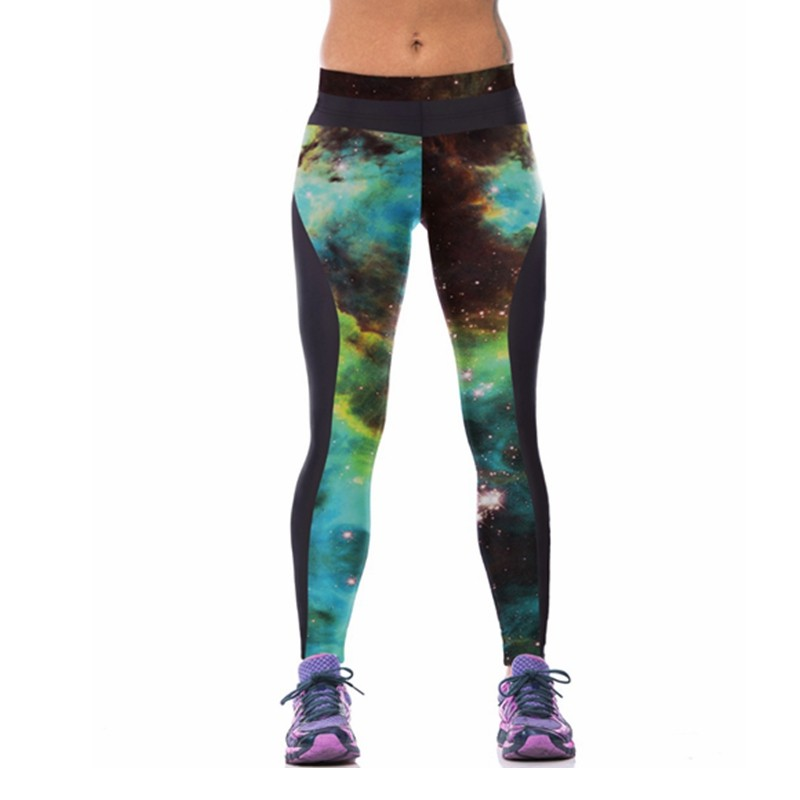 EAST-KNITTING-F1477-Hot-sales-New-arrival-Woman-brand-Galaxy-Leggings-Printed-fitness-sport-gym-pants
