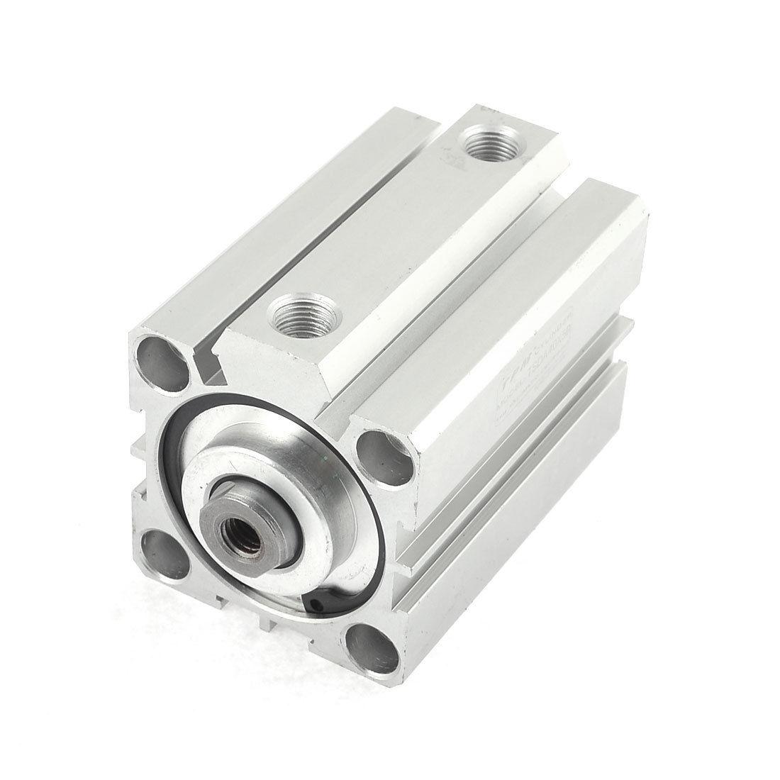 1 Pcs 40mm Bore 25mm Stroke Stainless steel Pneumatic Air Cylinder SDA40-25 1 pcs 50mm bore 25mm stroke stainless steel pneumatic air cylinder sda50 25