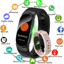 GIAUSA Smart Wristband Fitness Tracker Silicone Bracelet Blood Pressure Oxygen Heart Rate Monitor Tracker Wearable Device Band