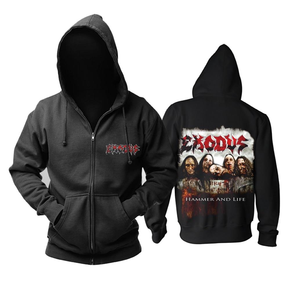 15 видов ужасный Exodus sudadera рок хлопок толстовки оболочка куртка панк рокерский спортивный костюм тяжелая металлическая брэндовая одежда, спортивные футболки - Цвет: 12