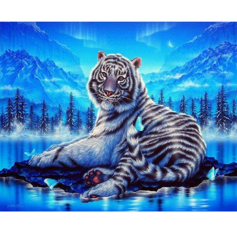 Home Interior Tiger Picture: Aliexpress.com : Buy 5d Home Decor Tiger Picture Diamond