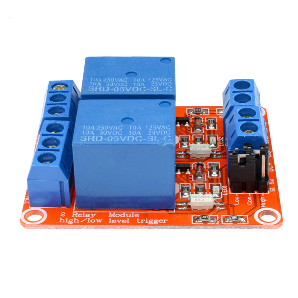 2 Way 5V Relay Module Support High And Low Level Trigger Relay Expansion Board Development Board