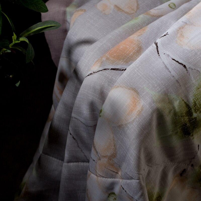 Ev ve Bahçe'ten Yatak Örtüsü'de Tencel keten pamuk kumaş zengin çiçek baskı lüks yatak örtüsü battaniye yatak örtüsü yorgan 150*200 cm ve 200*230 cm'da  Grup 2