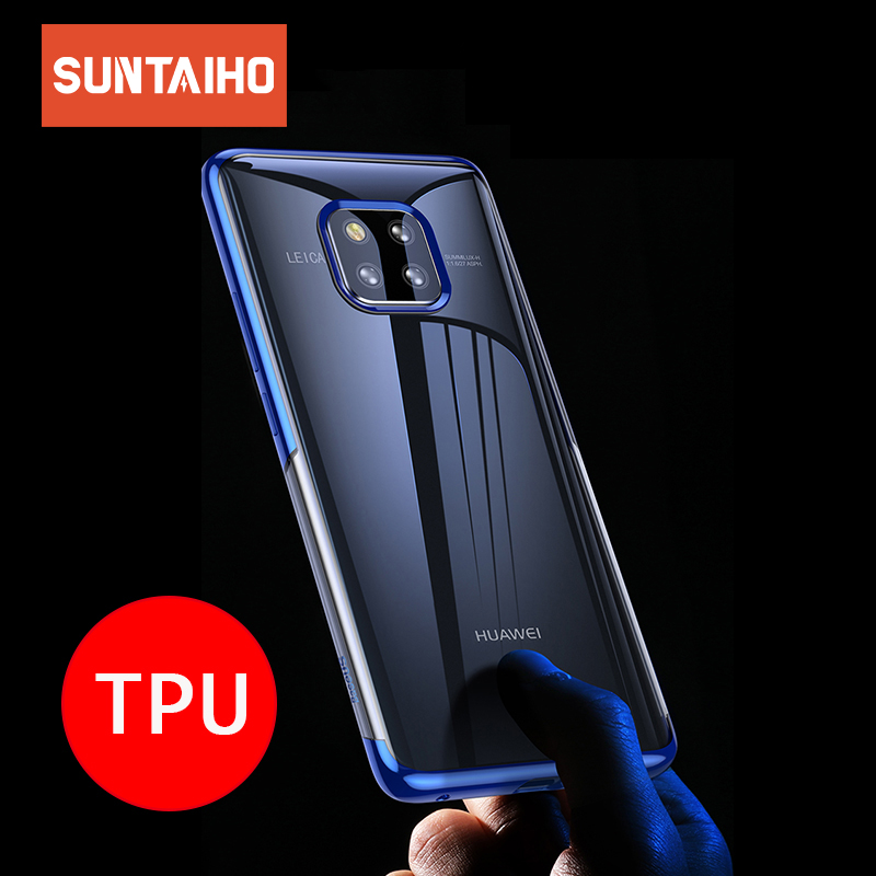 Suntaiho cover for Honor 10 for huawei mate 20 lite case TPU Soft Case for huawei mate 20 X honor 8x mater 20 pro case