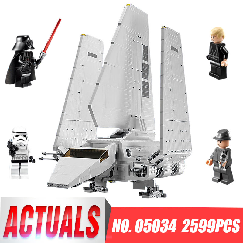 LEPIN 05034 New 2503Pcs Star Series Wars The Gifts Shuttle Building Blocks Bricks Assembled Toys Compatible with 10212