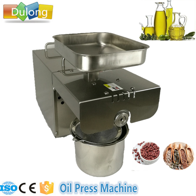 New Automatic High quality oil press machine/cold oil press machine/seed oil extraction machine high quality best price cold press oil seed extracting machine