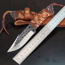 Very sharp Handmade  small tool/ outdoor equipment/ fruit tactical hunting knife Necessary for survival in the wild