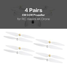 4 Pairs 10inch Propellers Spare Parts Props Set Blades CW CCW Propellers for RC Xiaomi 4K Version Drone Quadcopter цена в Москве и Питере