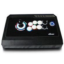 New Triple function game joystick arcade fighting without delay USB computer Fluorescence Arcade Wrestle rocker PC Games handle
