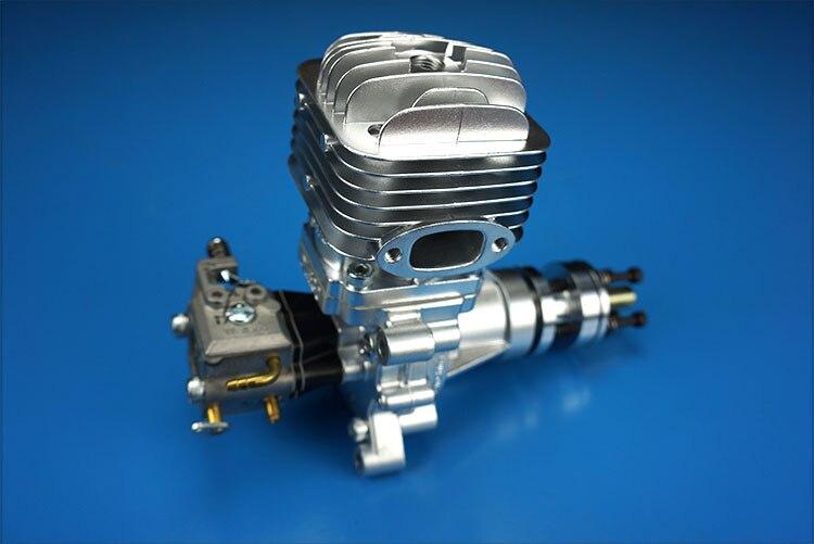 DLE30 30cc GAS Motor für RC Flugzeugmodell Einzelhub zwei Auspuff - Spielzeug für die Fernbedienung - Foto 3