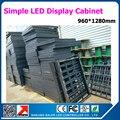 Высокое Качество 0.96*1.28 м 960 мм х 1280 мм простой утюг светодиодный дисплей шкаф может быть выполнено на заказ размер accroding к требованиям clinet сша