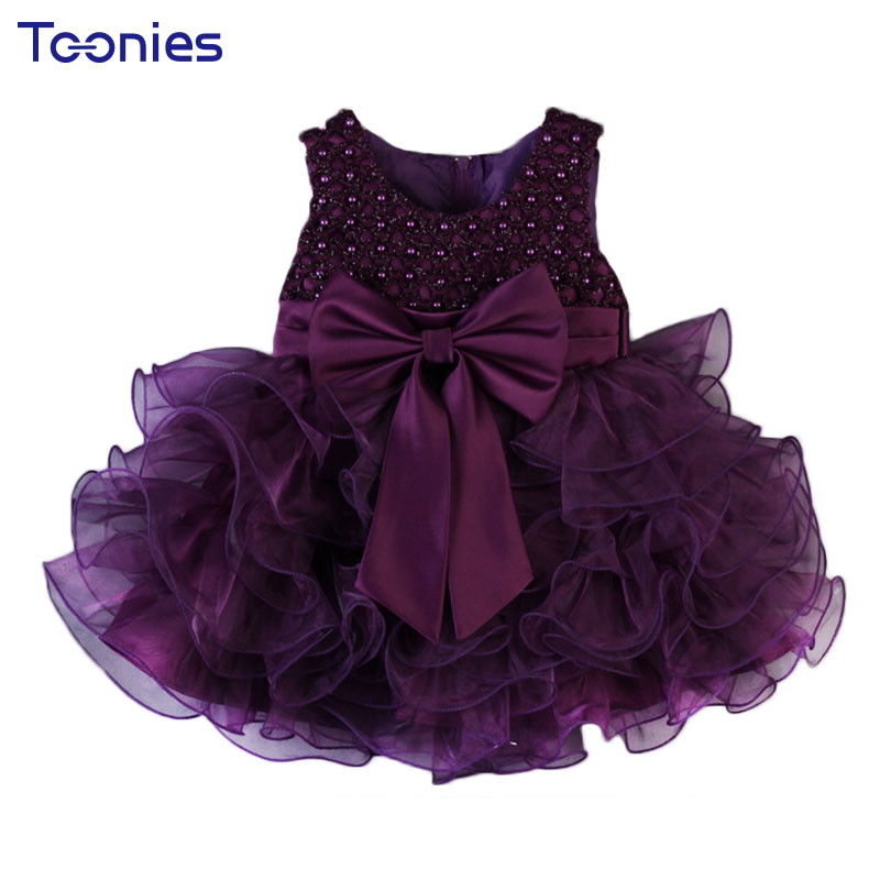 High Quality Girl Dress Baby Girls Dresses 2017 Summer Children Clothing Ball Gown Dress Kids Bow Lace Princess Clothes 5 Color high quality girls baby bright leaf long sleeve lace dress princess bud silk dresses children s clothing wholesale