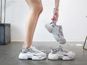 2019 Spring Autumn New Women Casual Shoes Mesh Comfortable breathable Platform Woman Sneakers Ladies Trainers chaussure g352 1