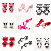 Korean Cute Cartoon Panda Fox Owl Elepant Bear Dog Frog Raccoon Woman Girl Stud Earrings Fashion Jewelry Holiday-KQQE