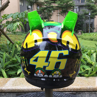 Motorbike Helmet Brand Malushun Motorcycle Helmet Kart Racing Full Face Helmet Men Motociclistas Capacete DOT Approved
