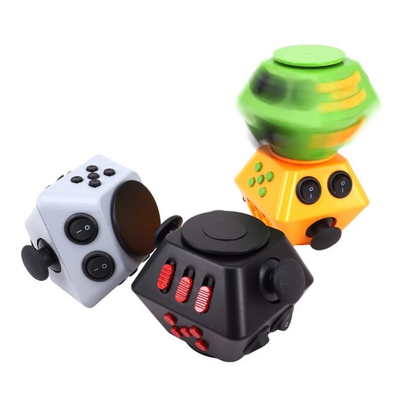 Купить с кэшбэком Fidget Spinner Combination Stress Upgraded 3 Antistress Magic Stress Relieve Anxiety Boredom Finger Toy