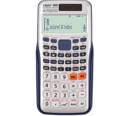 991es Плюс Научный калькулятор двойной Мощность с 417 Функция Calculadora cientifica как подарок 8 разных языках Параметры