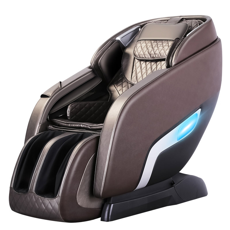 Image 2 - LEK 988R9 luxury electric massage chair Automatic body kneading multi function zero gravity space capsule intelligent massagerMassage Chair   -
