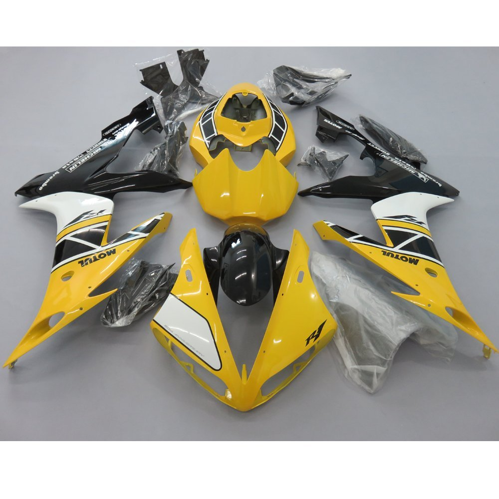 Motorcycle ABS Fairing Kit for Yamaha YZF R1 YZF1000 2004 2005 2006 Injection Mold Bodywork Fairings YZFR1 YZF-R1 04-06 Yellow