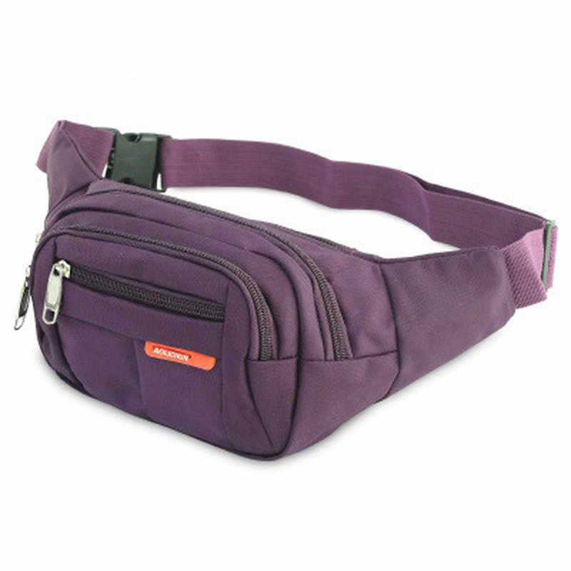 BYCOBECY スポーツバッグファニーパック男性女性マルチポケットと大容量レクリエーションヒップボムウエストバッグベルトモーション胸バッグ