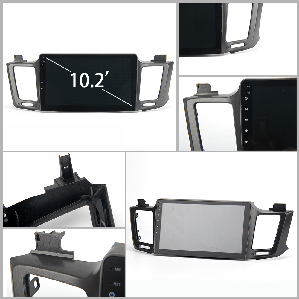 Android 8.0 unité de tête stéréo pour Toyota RAV4 2013-2017 Rav 4 lecteur multimédia autoradio Navigation GPS 4 Gb + 32 Gb prend en charge DAB + - 5